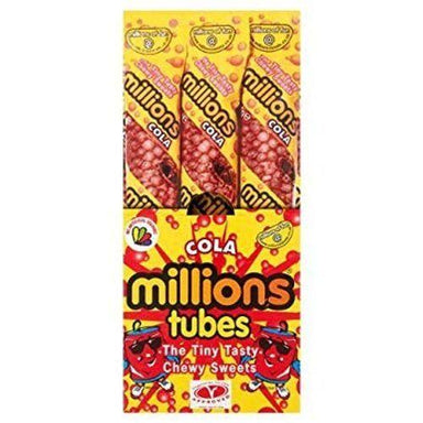 Millions Cola Tubes British Candy