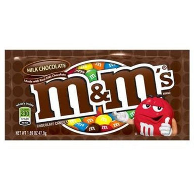 M&M's Milk Chocolate Candies-24 CT