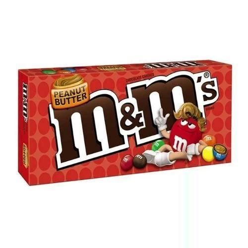 M&M's Peanut Butter Chocolate Candies Theater Box-12 CT