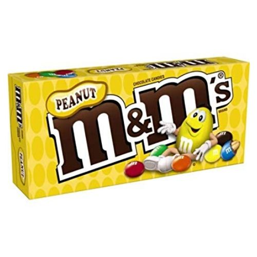 M&M's Peanut Chocolate Candies Theater Boxes-12 CT