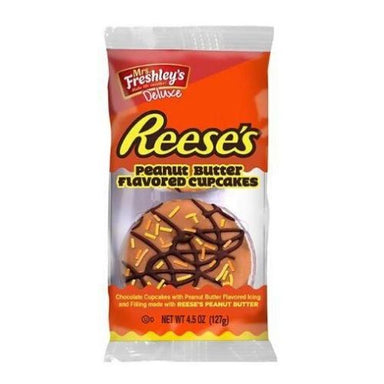Mrs. Freshley's Reese's Peanut Butter Flavored Cupcakes-6 CT