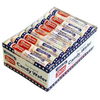 Necco Assorted Wafers Old Fashioned & Nostalgic Candy