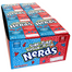 Wonka Nerds Candy Surf & Turf Totally Tropical Punch & Road Rash Raspberry Retro Candies 24 CT