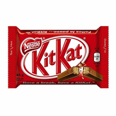 Nestle Kit Kat Milk Chocolate Bars - 48 Count