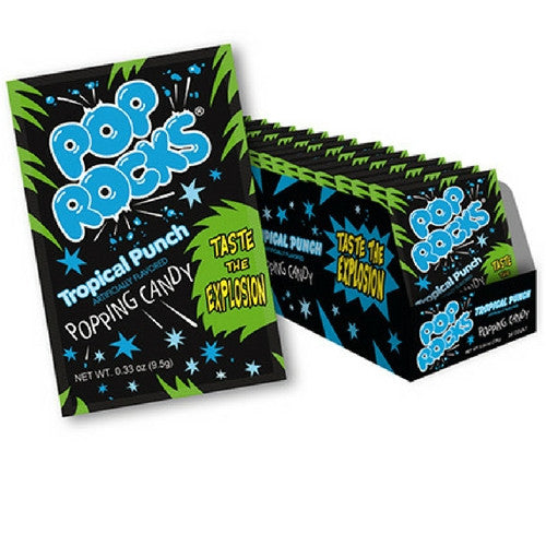 Pop Rocks Tropical Punch Retro Candy Wholesale