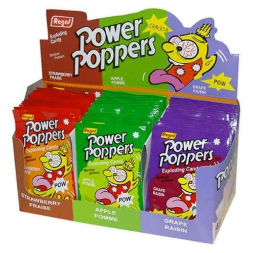 Power Poppers Exploding Candies-Wholesale Candy Toronto