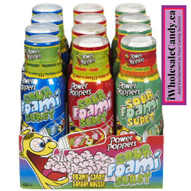 Power Poppers Sour Foam