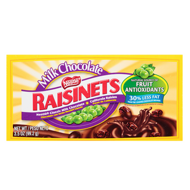 Raisinets Milk Chocolate Covered Raisins Theater Box-Wholesale Candy Canada