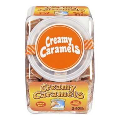 Regal Creamy Caramels - 240 CT | iWholesaleCandy.ca