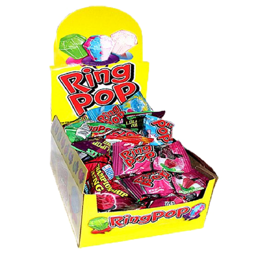 Ring Pop Candy-24 CT Lollipops Wholesale Candy