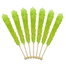 Copy of Rock Candy On A Stick-Light Green Watermelon Old Fashioned Candy