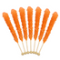 Rock Candy On A Stick-Orange Old Fashioned Candy
