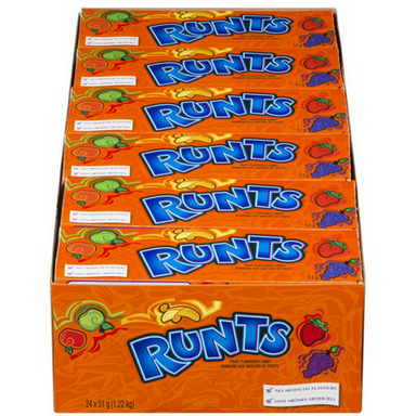 Runts Candy from Willy Wonka-Wholesale Candy 24CT