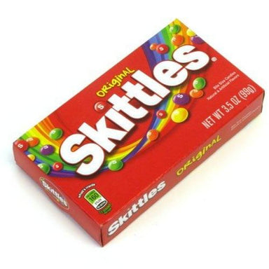 Skittles Candy Original Theater Box-12 CT