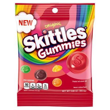 Skittles Original Gummies Candy 5.8 oz - 12 CT