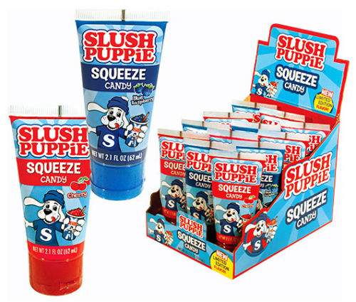Slush Puppie Squeeze Candy 62mL - 12CT