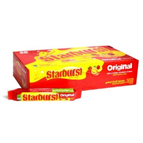 Starburst Fruit Chews Original Retro Candy-36 CT