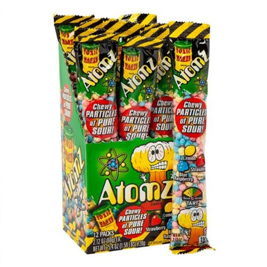 Toxic Waste Atomz Hazardously Sour Candy