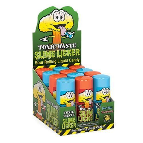 Toxic Waste Slime Licker Sour Rolling Liquid Candy-Sour Candy