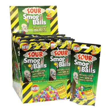 Toxic Waste Sour Smog Balls Hazardously Sour Candy