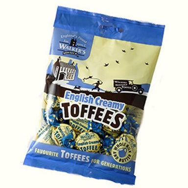 Walker's Nonsuch English Creamy Toffees Bags British Candy