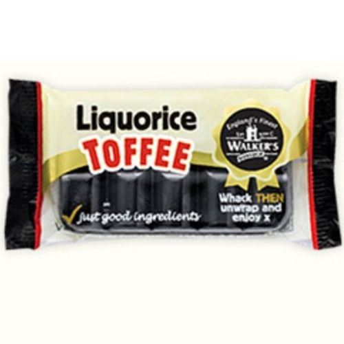 Walker's NonSuch Liquorice Toffee Bars Old Fashioned British Candy