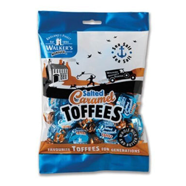 Walker's NonSuch Salted Caramel Toffees Bags British Candy