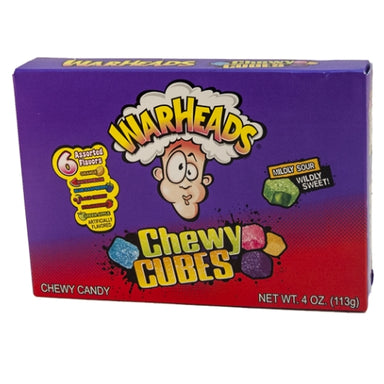 WarHeads Sour Chewy Cubes Theater Box Wholesale Candy Toronto