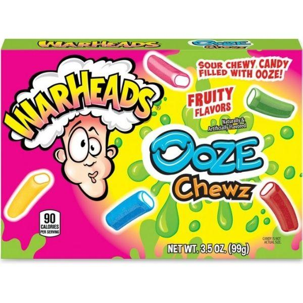 Warheads Ooze Chewz Theater Box 3.5oz - 12CT