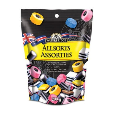 Waterbridge English Liquorice Allsorts British Candy Wholesale