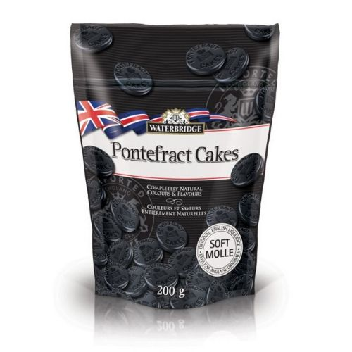 Waterbridge Pontefract Cakes British Candy-15 CT