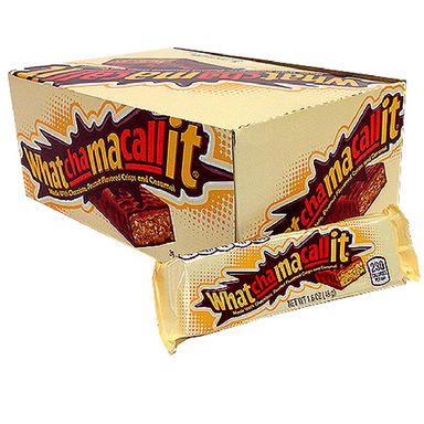 Whatchamacallit Candy Bar 1.6 oz-Box of 36-American Chocolate Bars