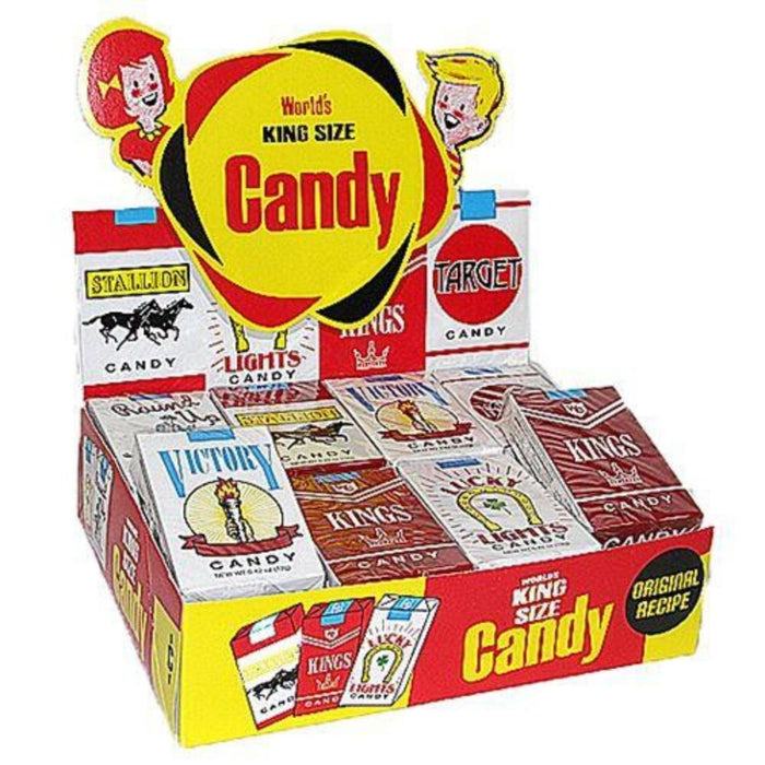 World's Candy Cigarettes Retro Candies-24 CT