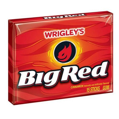 Wrigley's Big Red Gum 15 Stick Packs