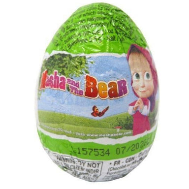 Zaini Mash and The Bear Surprise Eggs 20g - 24CT Wholesale Candy Canada
