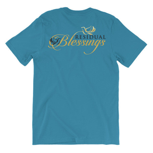 Exclusive Luxurious Signature T-shirt - Residual Blessings - 8