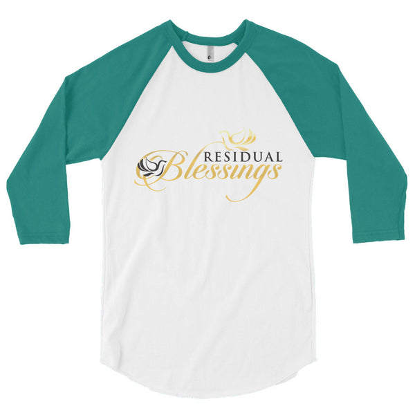 3/4 sleeve Official Residual Blessings Baseball Tee
