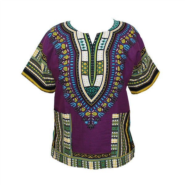 African Traditional Dashiki T-Shirt For Men & Women