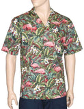 Flamingo Land Aloha Shirt