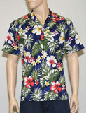 Floral Garden Cotton Aloha Shirt