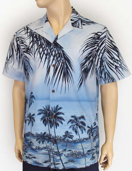 Men's Hawaiian Shirt -  Tropical Paradise