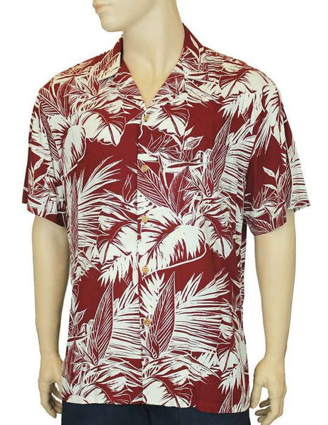 Rayon Aloha Hawaiian Shirt - Tropical Jungle