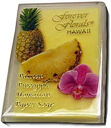 Passion Pineapple Scented Paper Soap