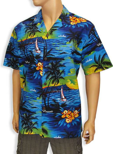 Aloha Men Shirt - Island Sunset Luau