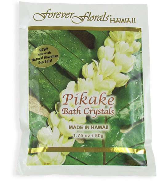 Pikake Tropical Scented Bath Crystals