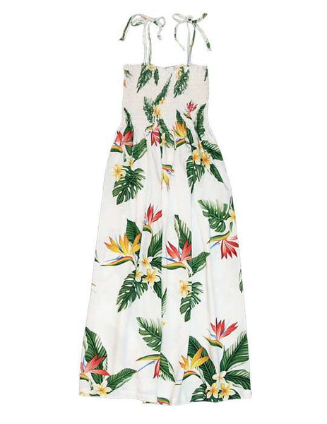Hawaiian Dress - Birds of Paradise