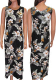 Tropical Tank Style Long Dress - Keanu