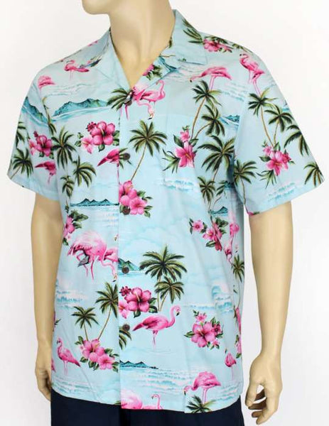 Flamingos Tropical Men's Shirt