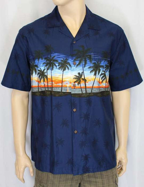Hawaiian Sunset Style Shirt for Men
