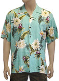 Rayon Hawaii Shirt for Men Island Ceres